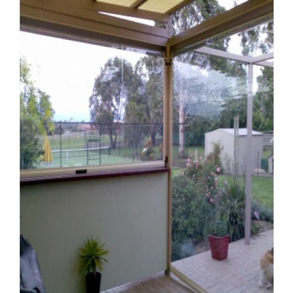 Clear PVC Bistro Blinds